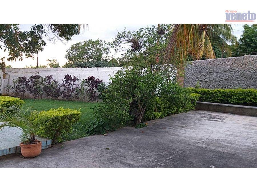 casa con amplio terreno en yaritagua