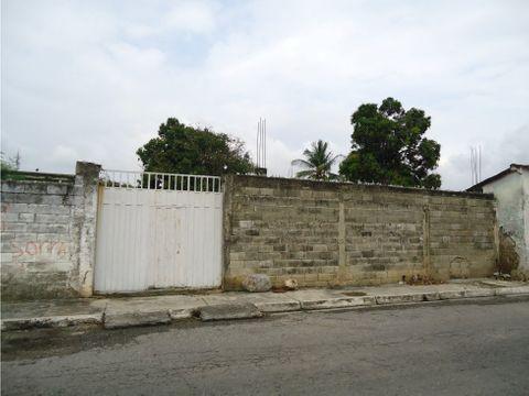 terreno en venta en yaritagua excelente ubicacion