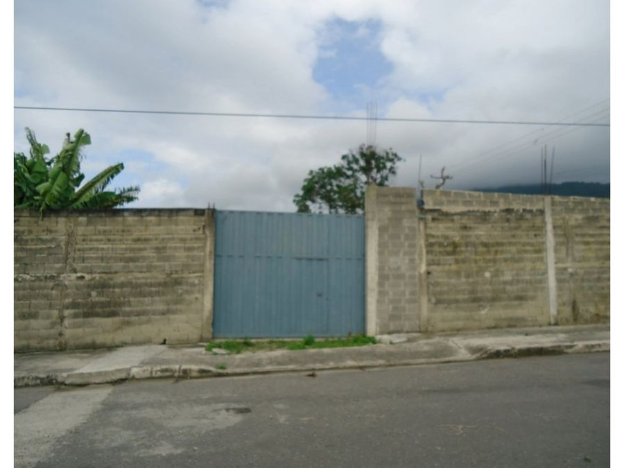 terreno en venta con bienechurias en yaritagua