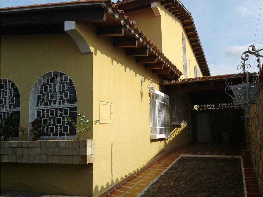 casa quinta en venta barquisimeto las colinas