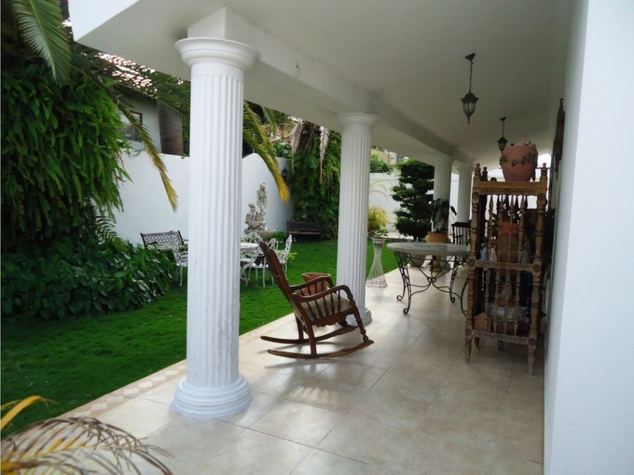 casa quinta en venta al este de barquisimeto