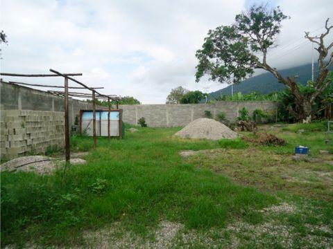 terreno en venta con bienechurias en sabana de parra