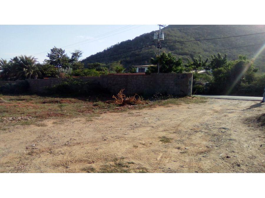 terreno sabana de guacuco