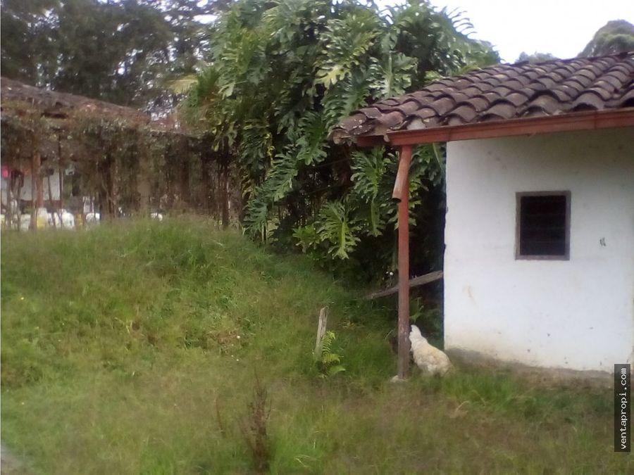 venta de lote rural en rionegro vereda ojo de agua