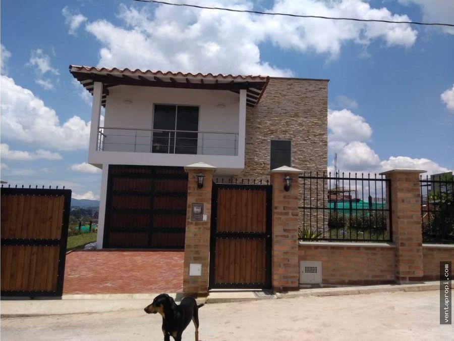 venta de casa en rionegro condominio linda granja
