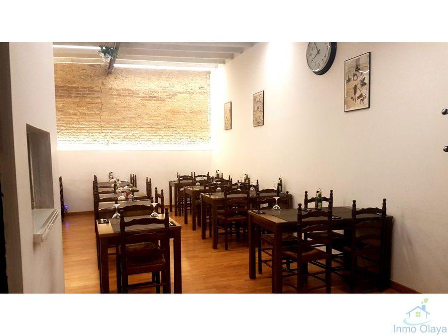 restaurante 120m c3 en eixample alquiler 850