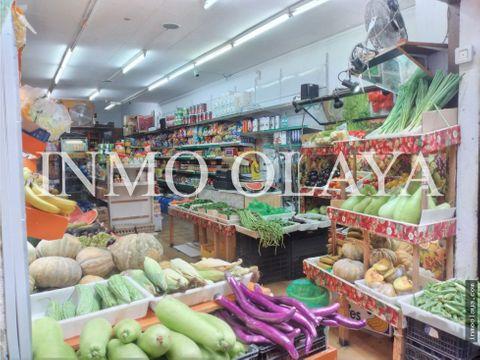 traspaso tienda alimentacion en pleno centro raval