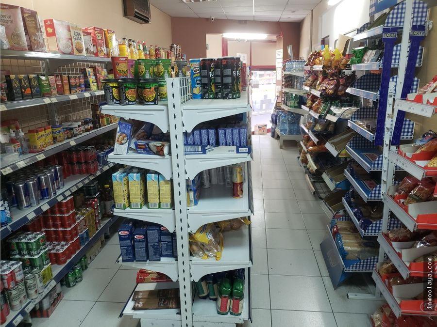 traspaso tienda de alimentacion en la sagrera