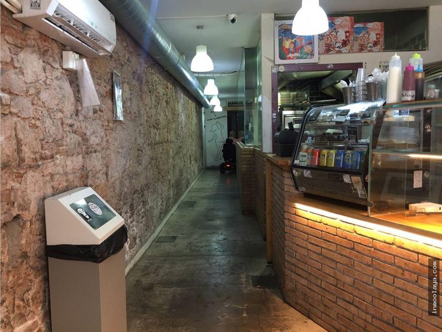 traspaso pizzeria take away c2 el raval