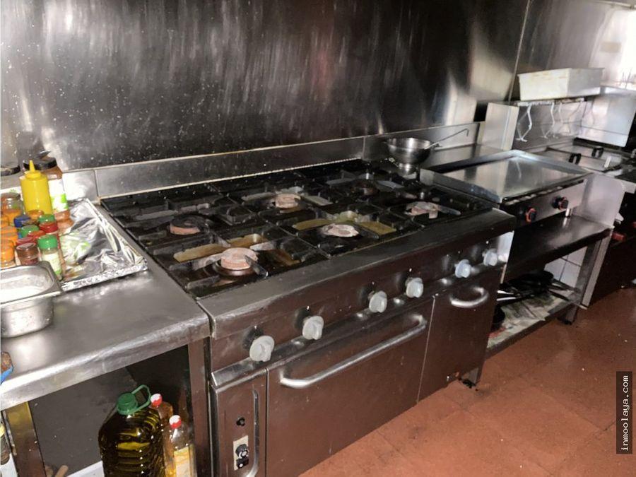 traspaso restaurante brasseria en poligono de rubi