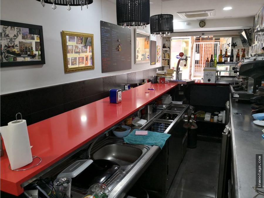 traspaso bar cafeteria en el centro de sta coloma