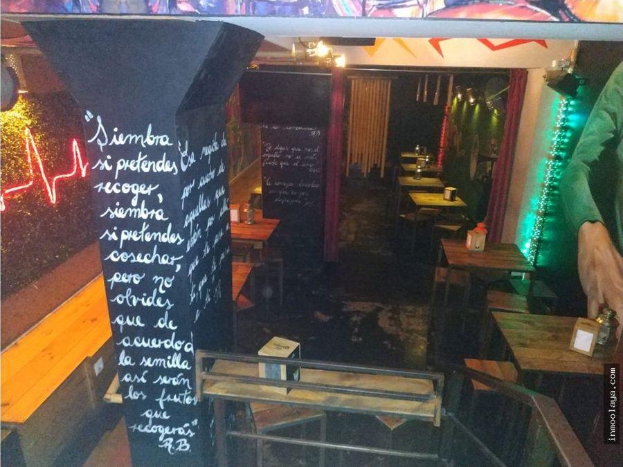 traspaso bar restaurante c3 en el gotico