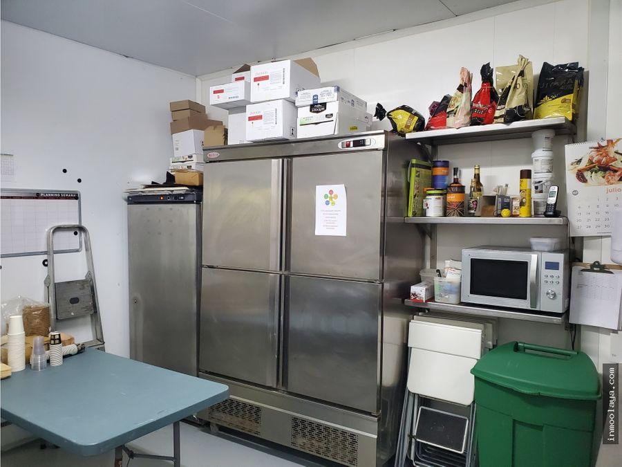 traspaso cocina central ideal para dark kitchen en castelldefels