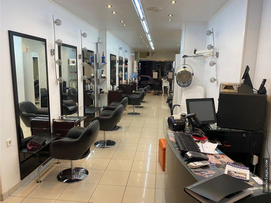 traspaso peluqueria y centro de estetica en les corts