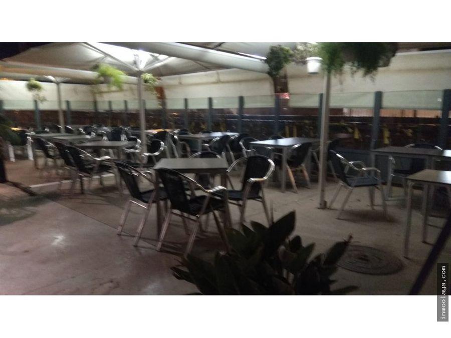 traspaso restaurante c3 gran terraza en badalona