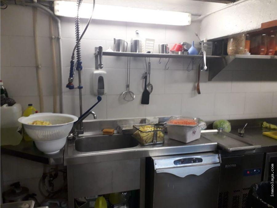traspaso restaurante c3 en la mejor zona del raval