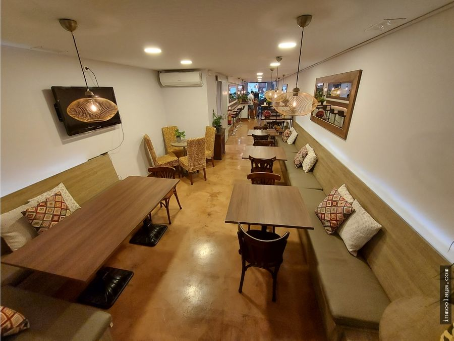 traspaso restaurante c3 mixto en aribau con terraza