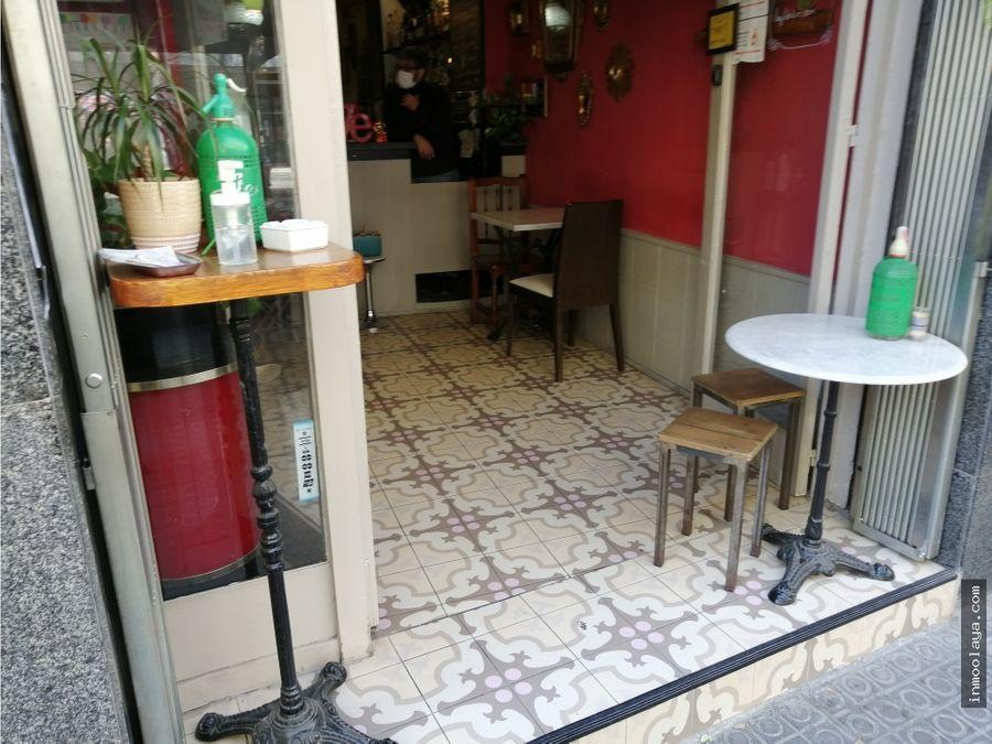 traspaso bar c2 y terraza en la dreta de leixample