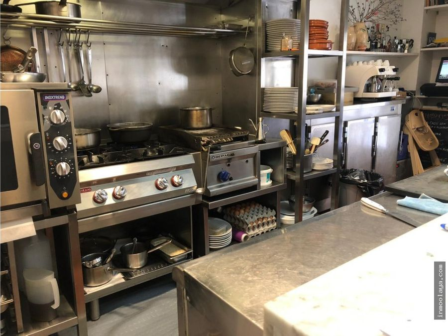 traspaso restaurante diafano en sant gervasi