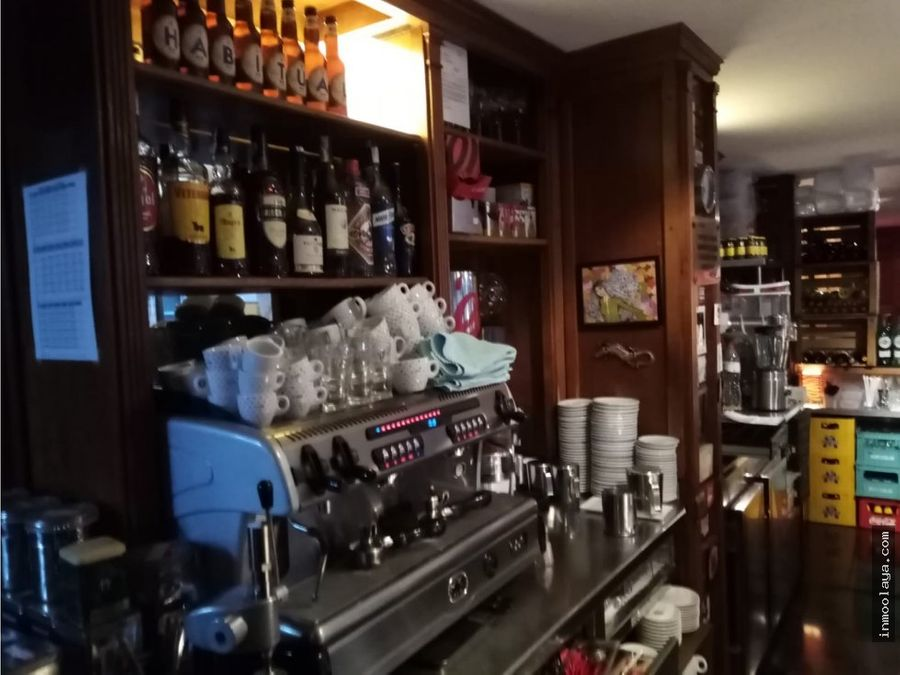 traspaso bar restaurante c3 mixto