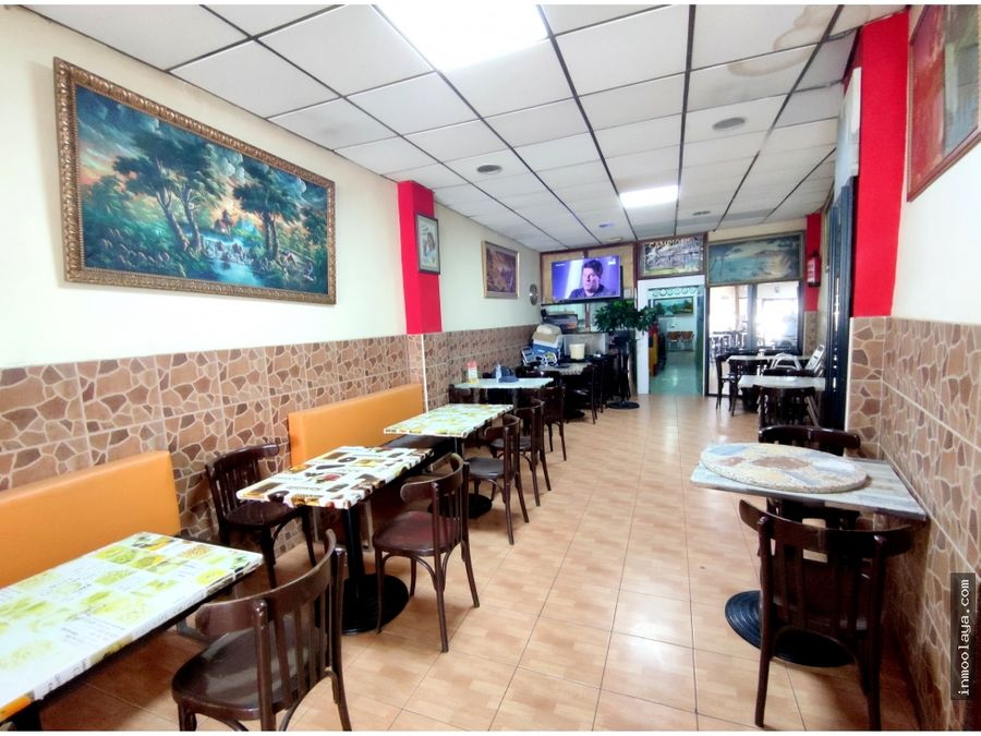 traspaso kebab locutorio c3 con terraza en nou barris
