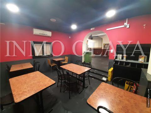 venta de bar restaurante c3 mixta en sants