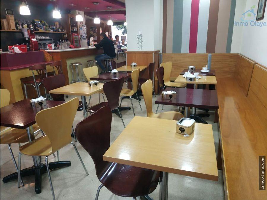 traspaso de obrador industrial cafeteria