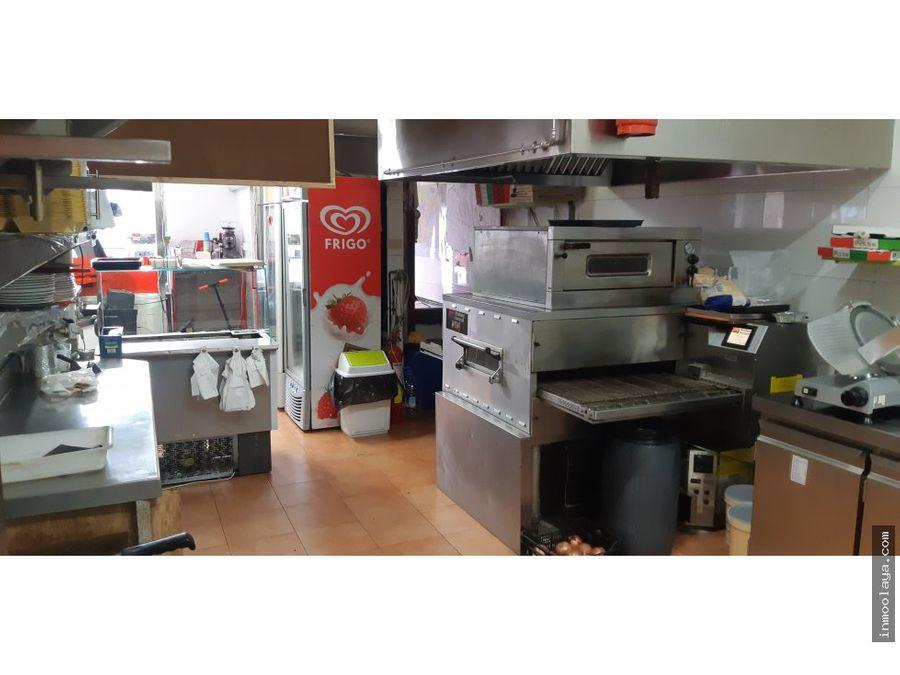 traspaso restaurante pizzeria c3 esquinero sants