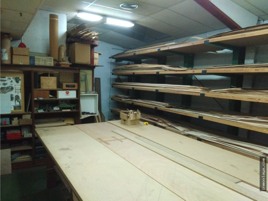 venta nave maquinaria de carpinteria en sant vicenc dels horts