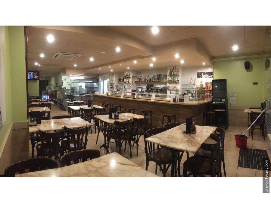 venta de bar restaurante c3 en hospitalet