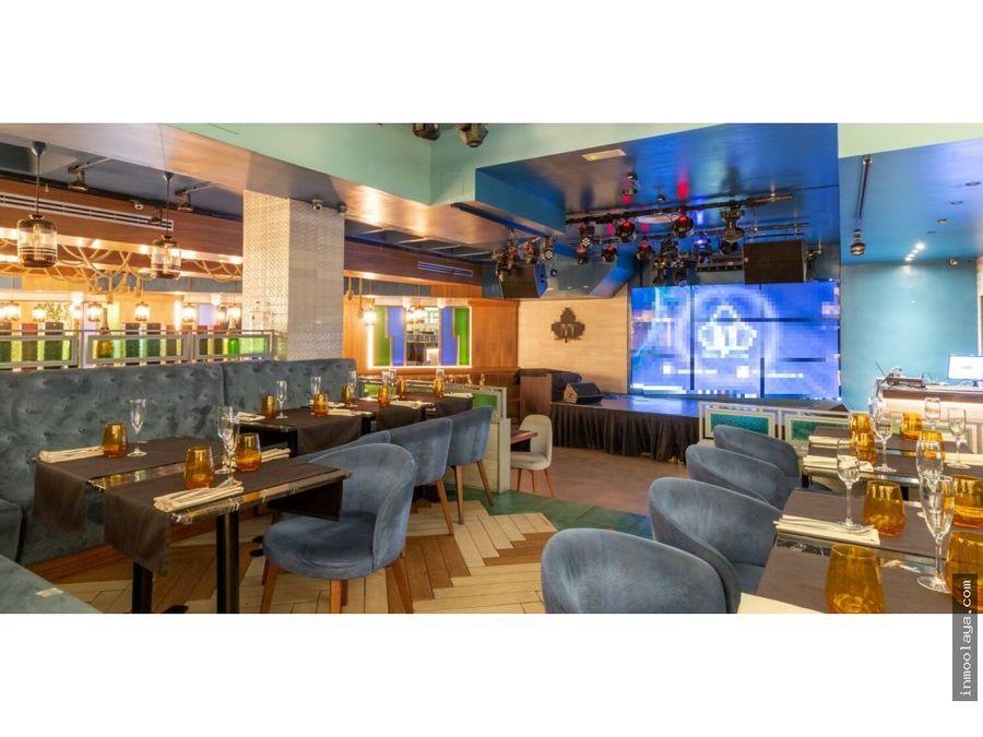 traspaso bar restaurante lounge c3 mixto sant gervasi
