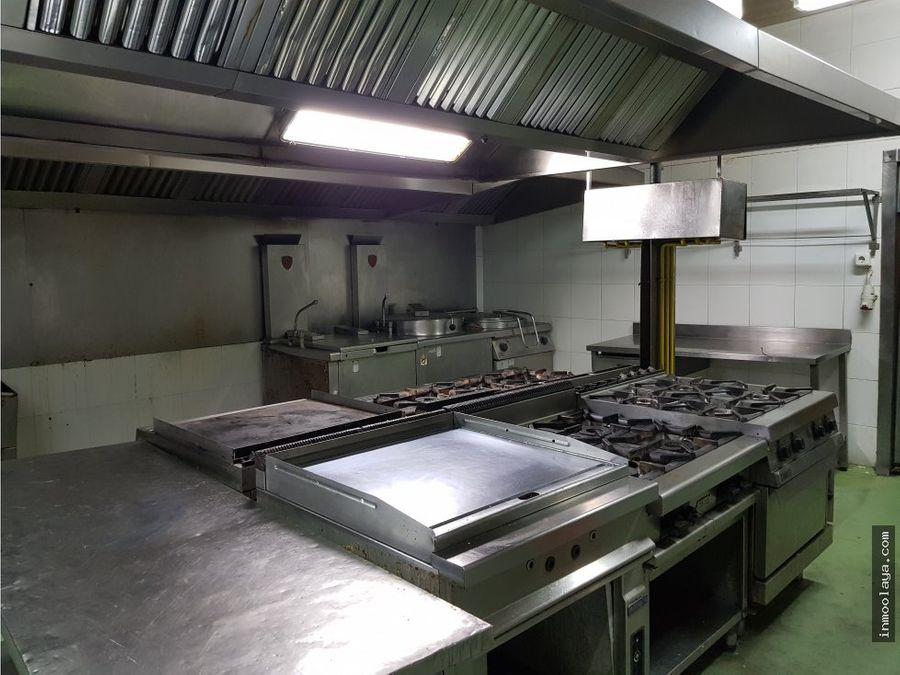 traspaso cocina con produccion en viladecans