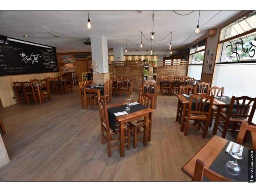 venta restaurante c3 en sant just desvern