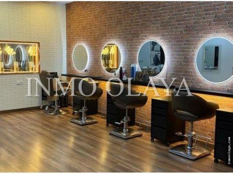 traspaso peluqueria y centro de estetica en sant antoni
