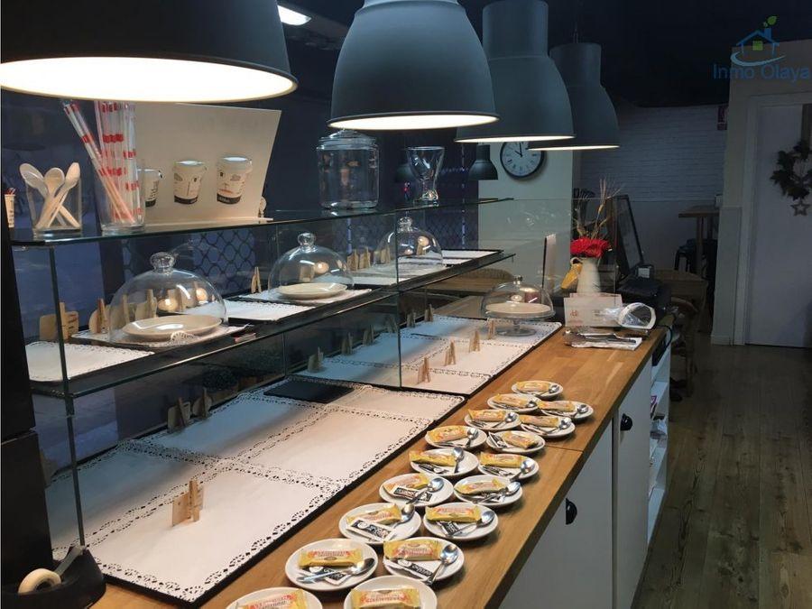 traspaso cafeteria con degustacion en sant gervasi