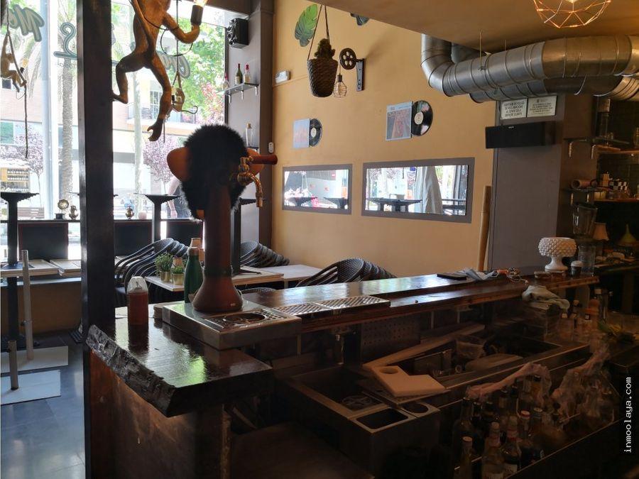 traspaso restaurante cocteleria c2 en la rambla del poblenou