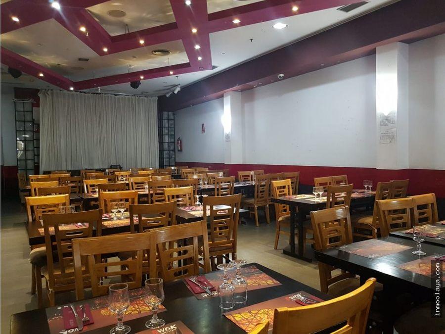 traspaso restaurante 1180m c3 plz catalunya