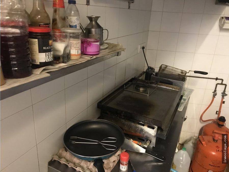 traspaso bar cafeteria con salida de humos en collblanc