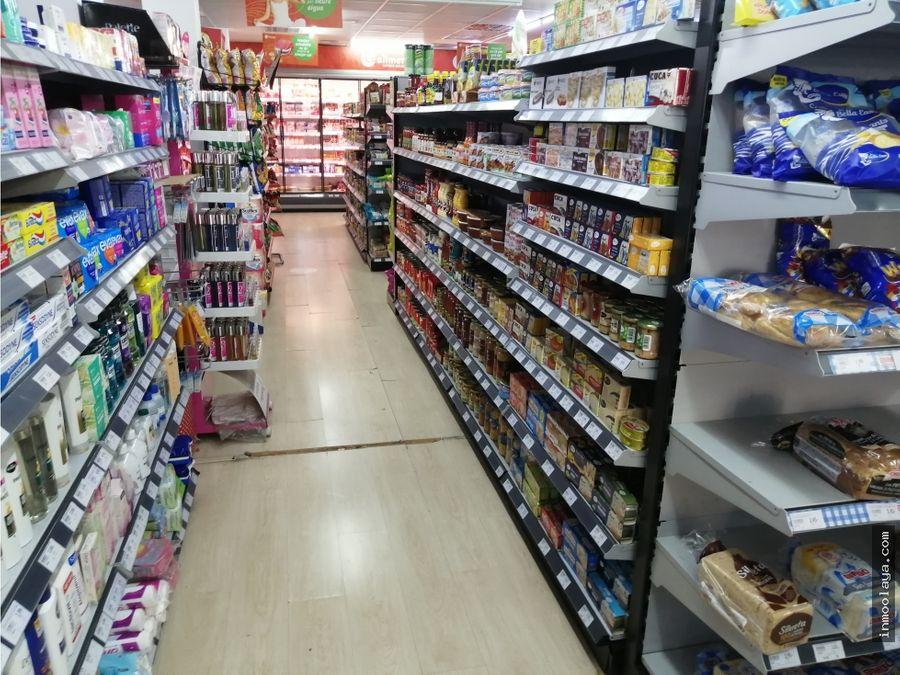 traspaso espectacular supermercado en leixample