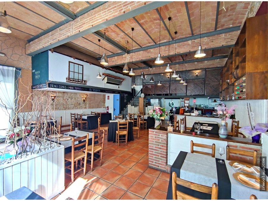 traspaso de restaurante braseria en badalona centre