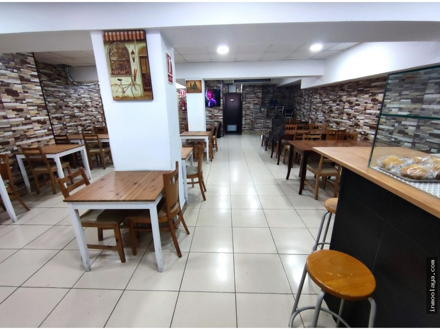 traspaso restaurante fast food c3 terraza en sant adria centro