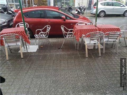 traspaso bar cafeteria c1 con terraza en sant gervasi