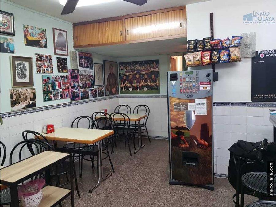 traspaso bar cafeteria c2 en el guirnardo