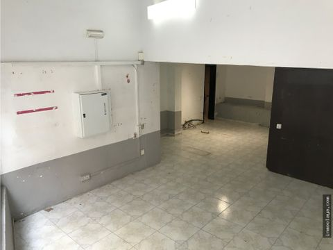 alquiler local comercial en poble sec