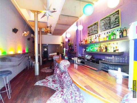 traspaso cocktail bar con terraza en lantiga esquerra de leixample