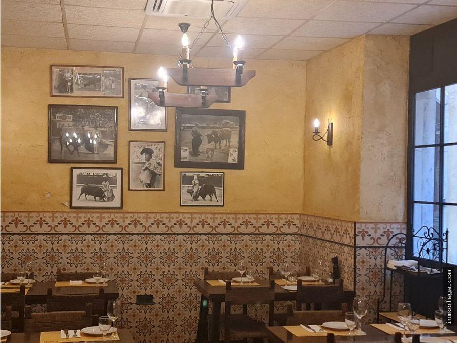 traspaso de restaurante c3 en el centro de barcelona