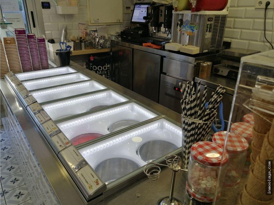 traspaso de heladeria en la ciutadella