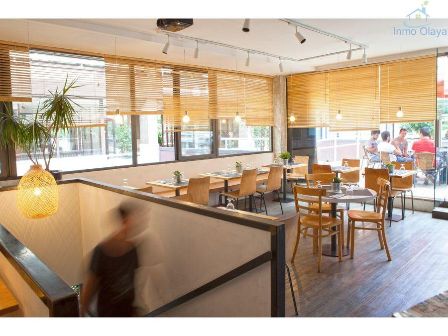 venta bar restaurante en sants