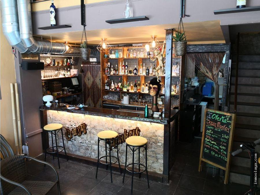 traspaso restaurante cocteleria c2 en poblenou