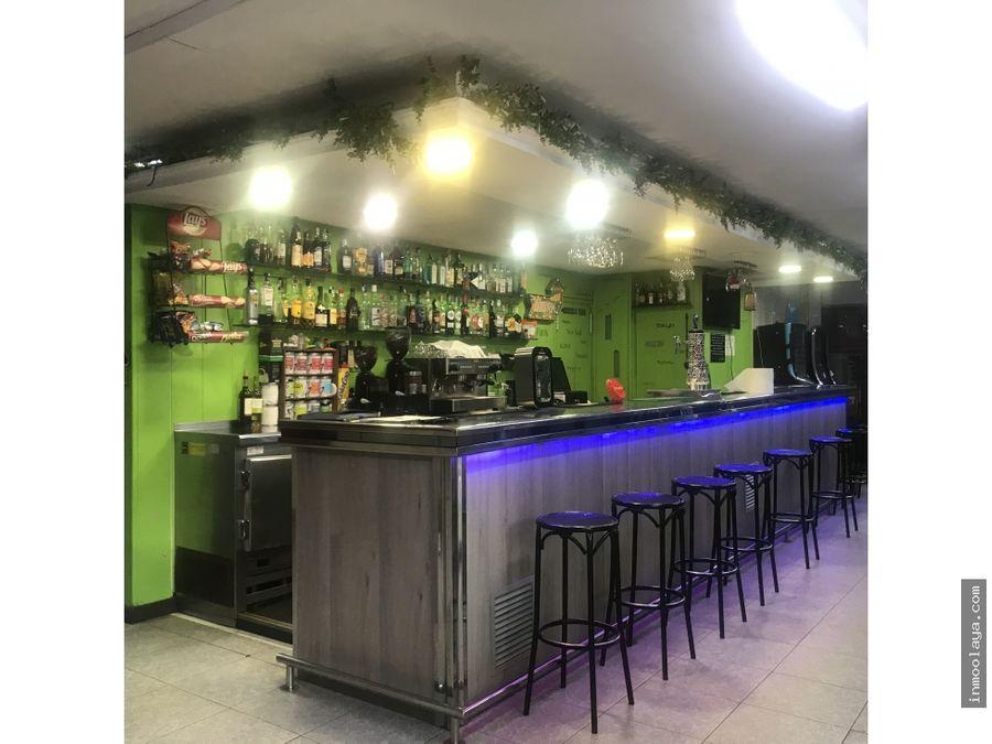 traspaso bar restaurante c2 en viladecans espacio privado terraza